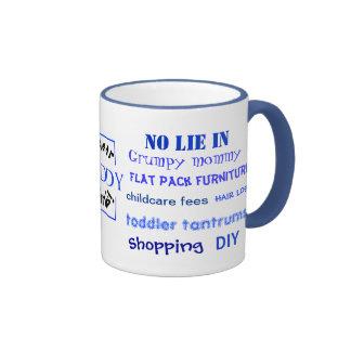 Daddy Swear Words! Funny Daddy Joke Coffee Mugs