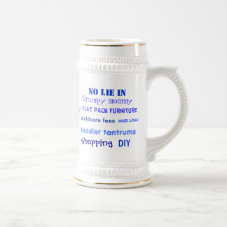 Daddy Swear Words! Silly Daddy Words Beer Stein