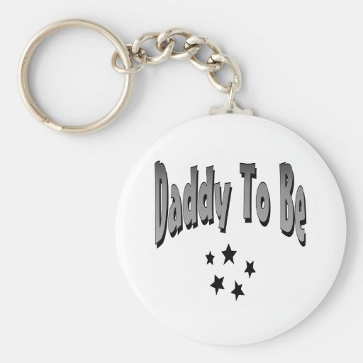 Daddy To Be Key Chain