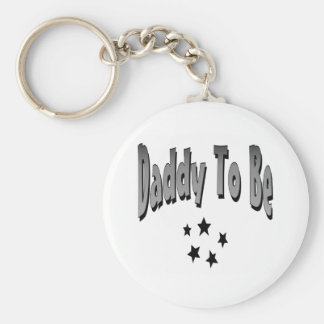 Daddy To Be Keychain