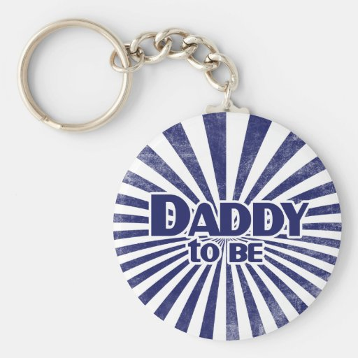 Daddy to Be Keychains