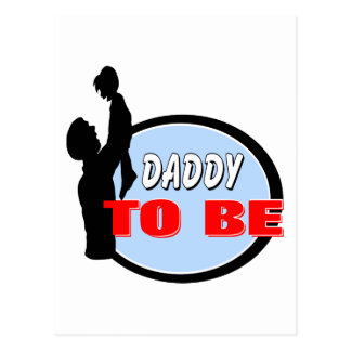 Daddy To Be Postcard