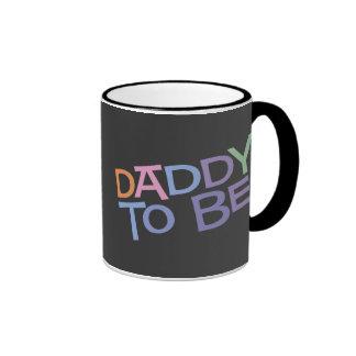 Daddy to Be Ringer Mug