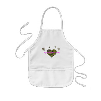 Daddy Wears Camo Kids' Apron