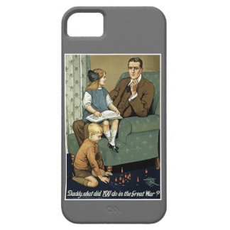 Daddy, what did you do in the Great War? iPhone SE/5/5s Case