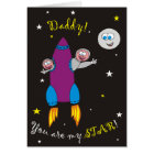 Daddy You are My Star! Father's Day Cards