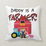 daddyisafarmerTEE Pillows