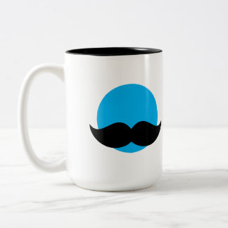 DaddyNoob - Coffee Cup with Moustache Emblem