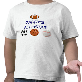 Daddy's All-star Toddler Tee