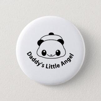 Daddys angel Panda Pinback Button