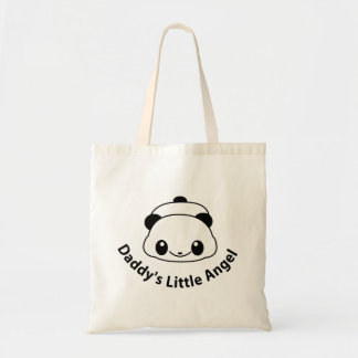 Daddys angel Panda Tote Bag