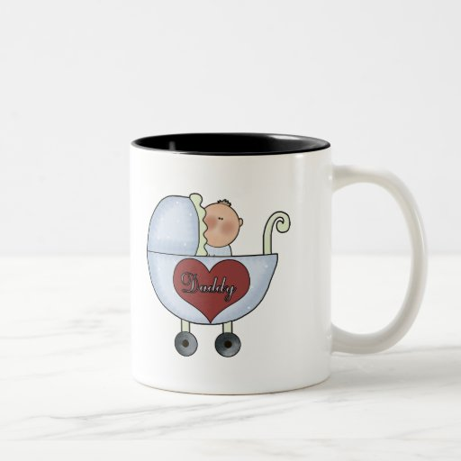 Daddys Baby Boy Mugs
