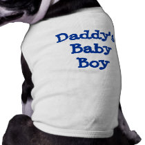 Daddy's Baby Boy Shirt