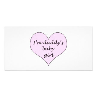 Daddy's Baby Girl Card