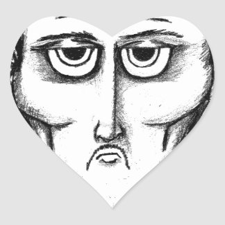 Daddys Bedtime Stories- children teen young adult Heart Sticker