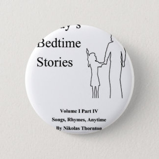 Daddys Bedtime Stories Pinback Button