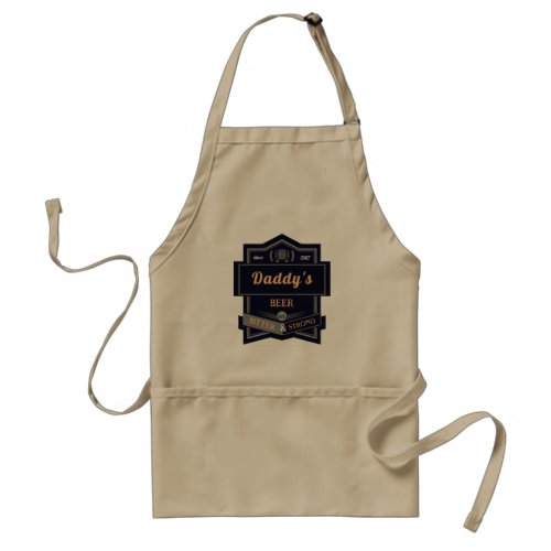 Daddys Beer Adult Apron