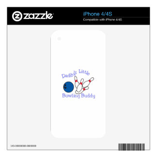 Daddys Bowling Buddy iPhone 4S Decal