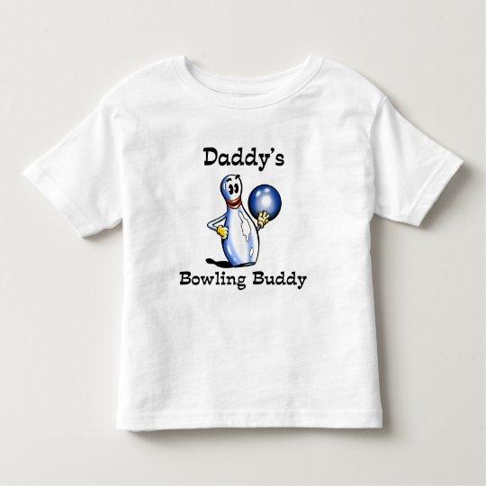 Daddy's Bowling Buddy Toddler T-shirt