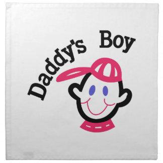 Daddys Boy Cloth Napkin