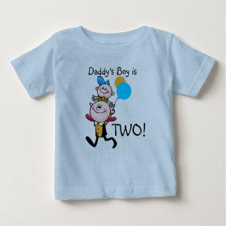 Daddy's Boy Customizable Birthday T-shirt