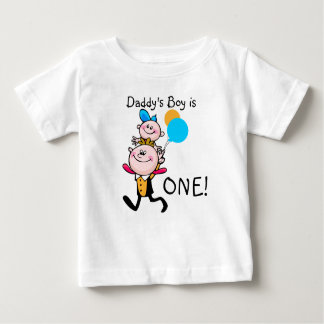 Daddy's Boy Customizable Birthday T-shirt