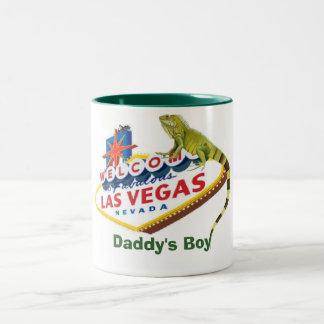Daddy's Boy Iguana Las Vegas Mug