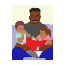Daddy's Bundles Canvas Print