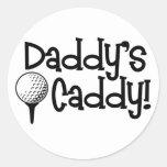 Daddy's Caddy Sticker