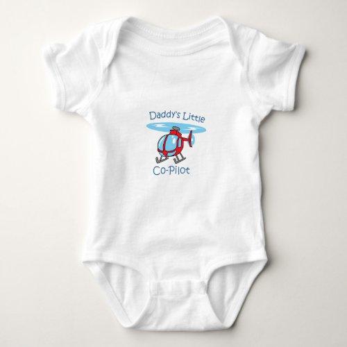 Daddys Co_Pilot Baby Bodysuit