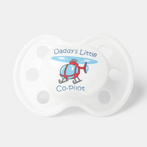 Daddys Co_Pilot Pacifier