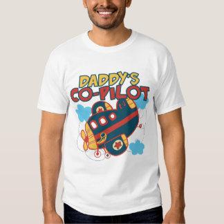 Daddy's Co-pilot Tee Shirt