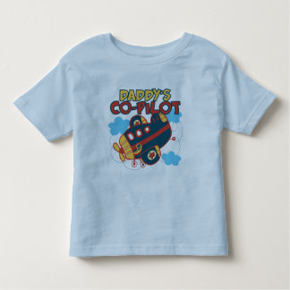 Daddy's Co-pilot Toddler T-shirt