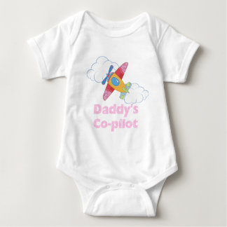 Daddy's Copilot Girl Tshirts