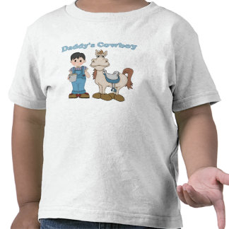 Daddy's Cowboy Tee Shirts