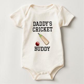 Daddy's Cricket Buddy Bodysuits