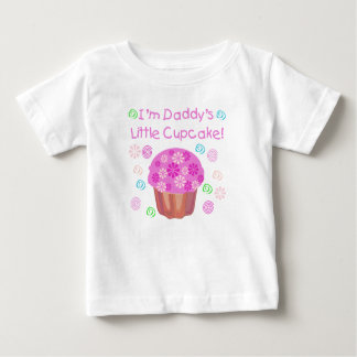 Daddy's Cupcake Baby T-Shirt