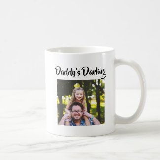 Daddy's Darling Father Daughter Gift Coffee Mug