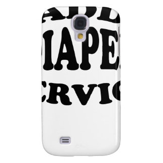 Daddy's Diaper Service Tshirt.png Samsung Galaxy S4 Cover