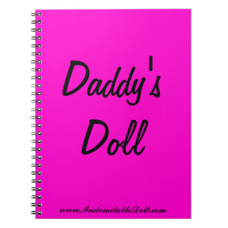 Daddy's Doll Notebook