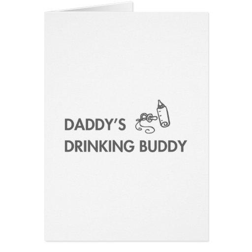 daddys-drinking-buddy-fut-gray.png tarjeta de felicitación