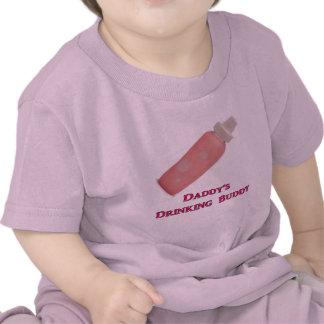 Daddy's Drinking Buddy (Girl) Tshirts