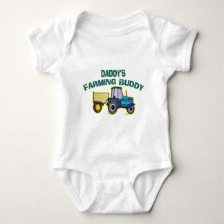 Daddy's Farming Buddy Baby Bodysuit