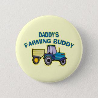 Daddy's Farming Buddy Button