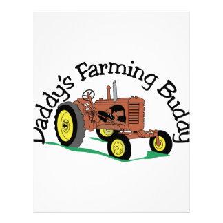 Daddys Farming Buddy Letterhead