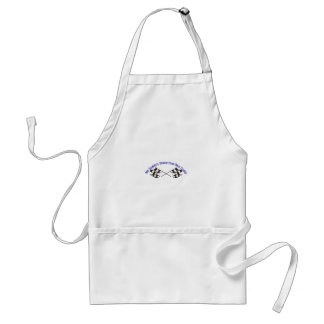 Daddys Faster Adult Apron