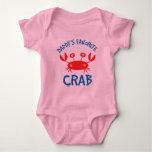 Daddys Favorite Crab (Child) Baby Bodysuit