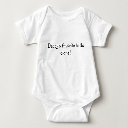 Daddy's favorite little clone! tee shirt