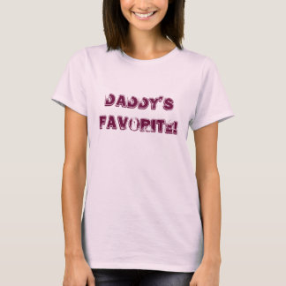 Daddy's Favorite Novelty Shirt