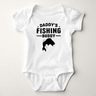 Daddy's Fishing Buddy Baby Bodysuit